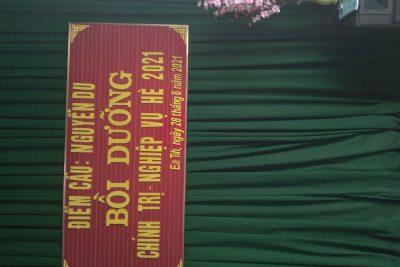 Trường TH Nguyễn Du tham gia lớp bồi dưỡng chính trị -nghiệp vụ hè 2021