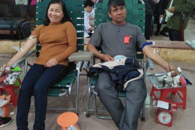 Trường Th nguyễn Du tham gia hiến máu nhân đạo