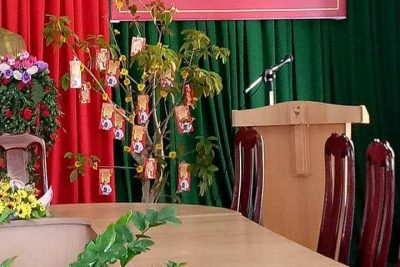 Gặp mặt dâu rể nhaanngayf Quốc tế phụ nữ 8/3 tại trường TH Nguyễn Du