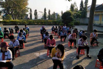 Liên đội Nguyễn Du tổ chức ngày hội Rèn luyện chuyên hiệu – Rèn luyện đội viên