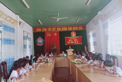 Đại hội cháu ngoan Bác Hồ, liên đội trường TH Nguyễn Du