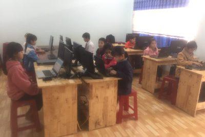 Trường TH Nguyễn Du tham gia hội thi Vuolympic Tiếng Anh cấp trường