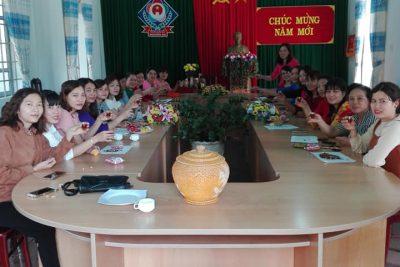 Trường TH Nguyễn Du khai xuân đón chào năm mới với tinh thần yêu thương, đoàn kết, vui vẻ.